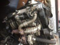 W. GOLF MK4 1.9 TDI ENGINE WHIT GEARBOX COMPLETE