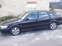 Saab auto 2lt petrol lots off history mot October been well looked after