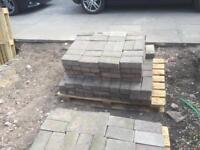 Block Paving - 50m2 on pallets and ready to go