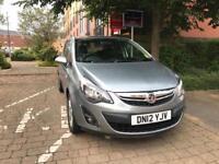 Vauxhall corsa d facelift automatic auto low miles cheap bargain car 2012 sxi plus