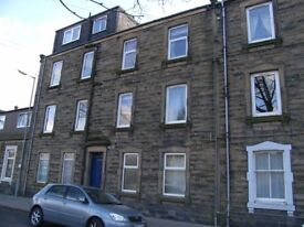 2 bed flat, Hawick. Pleasant location close to the town centre.