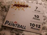 10 entry tickets to Mayhem Paintball