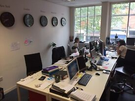 Two adjacent offices for 4 and 6 people. Great location on Chiswick High Road