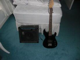 Electric Guitar Plus Amp