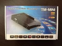 TM Mini Full HD Satellite Receiver Small Wall Mountable IP Ready 1080p BRAND NEW!!!