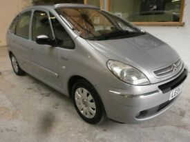 2004 CITROEN XSARA PICASSO 2.0 AUTOMATIC, EXCLUSIVE, ELECTRIC SUNROOF, SERVICE HISTORY, CLEAN CAR