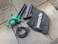 Leaf blower/garden vac