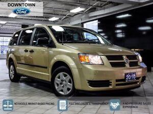 2010 Dodge Grand Caravan SE, Trade in, Low mileage, Car Proof Ve