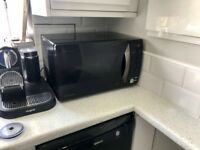Daewoo black microwave 800watt