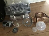 Small cage and accessories