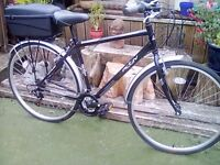 ADULT ACTIV 5TH AVENUE HYBRID /CITY BIKE BY RALEIGH WITH 14 GEARS EXCELLENT ORDER