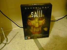 saw quadrilogy boxset