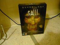 saw quadrilogy boxset
