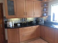 FITTED SIGMA 3 KITCHEN WITH GRANITE WORKTOPS - Excellent Condition