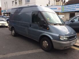 2004 ford transit semi high top 80k mot july 2018