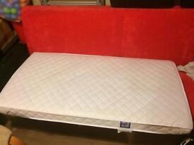 1400x700 Cot Bed Mattress - Excellent Condition