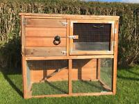 Large wooden Rabbit Hutch - for sale. £25 Ovno
