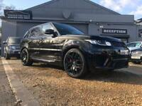 LAND ROVER RANGE ROVER SPORT 3.0 SDV6 AUTOBIOGRAPHY DYNAMIC 5d AUTO 306 BHP (black) 2015