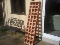 BRAND NEW (BARGAIN)TREATED GARDEN TRELLIS X 4 PIECES 6FT X 1ft 6