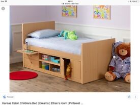 Dreams cabin bed with storage