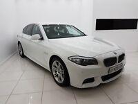 BMW 5 SERIES 2.0 520d M SPORT - 12 MONTH MOT - 12 MONTH WARRANTY - £0 DEPOSIT FINANCE