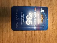 Playstation £35 Giftcard