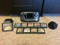 Sega Game Gear with Games!