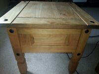 stylish wooden table