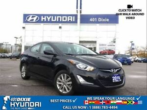 2016 Hyundai Elantra SPORT|HEATED SEATS|BLUETOOTH|BACK-UP CAM|