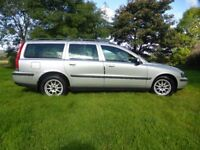 volvo, v70, estate, petrol, fsh, well maintained, excelent condition, leather,long mot.