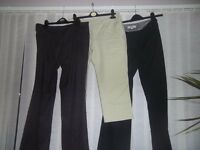 Selection of petite trousers