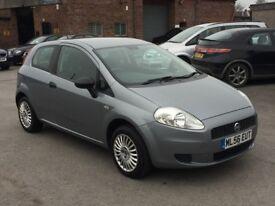 Fiat Grande Punto 1.2 only 48k on clock 3dr 2006 (56 reg), Hatchback (30 days warranty)£1199