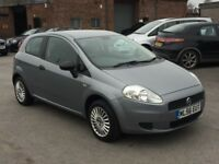 Fiat Grande Punto 1.2 only 48k on clock 3dr 2006 (56 reg), Hatchback (30 days warranty)£1250