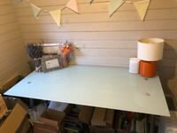 **SOLD** IKEA Galant Glass Desk **SOLD**