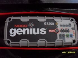 Battery Charger NOCO Genius G7200UK 12V/24V 7.2A
