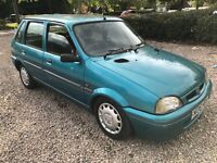Rover Metro 100 Kensington SE 1120cc Petrol 5 speed manual 5 door hatchback N Reg 02/03/1996 Green