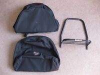 Ventura Motorcycle Bags and Pack Rack