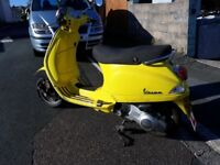 VESPA LX 125 2006 FULLY AUTOMATIC WITH MOT