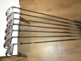 slazenger forged xt20cb irons steel stiff 4 to pw