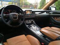 LHD Audi a8 4.0 tdi reg 2005