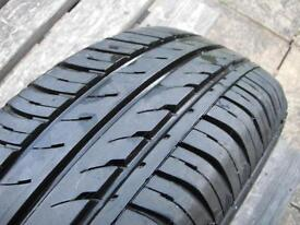 Micra K11 Tyre, near new, 6mm tread, Continental EcoContact3 165/60R14 75H. Perfect. Rim available.