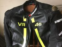 Dainese leather jacket XXL prestine condition