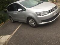 2013 VW sharan 2.0tdi bluemotion .FSH..(seat alhambra/vw touran/7 seater/ford s max/ford galaxy)