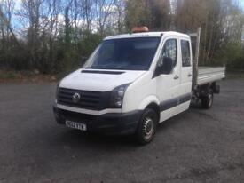12/12 VW CRAFTER CR35 TDI 136 LWB TIPPER £6999 INC VAT