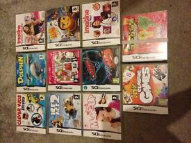 Ds games £5 each or 40 lot