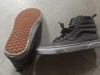 Vans skate trainers size 7 worn once