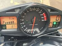 SUZUKI GSR600 2006 BLUE,EXCELENT CONDITION,NEW MOT,LOW MILEGE 7143 ONLY,FIRST SEE WILL BUY,FAULTLESS