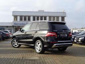 Mercedes-Benz M Class ML350 BLUETEC AMG SPORT (black) 2013-09-24