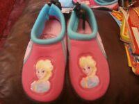 aqua shoes frozen size 6