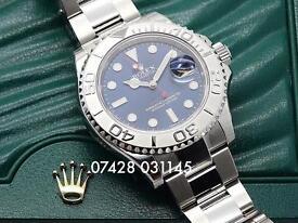 Rolex Yachtmaster Sunburst Blue